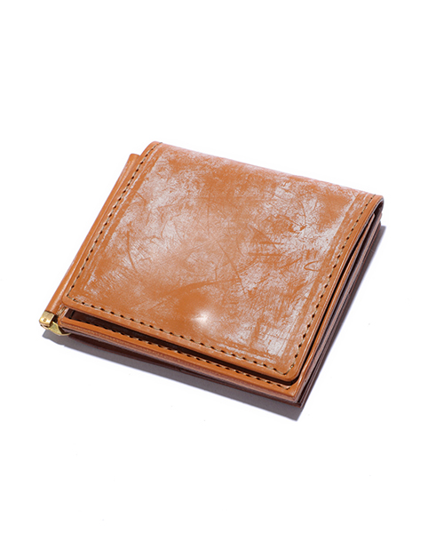 MR.OLIVE E.O.I / BRITISH BRIDLE LEATHER / MONEY CLIP WALLET