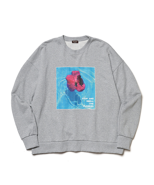 MR.OLIVE×vein / BOX SILHOUETTE SWEAT SHIRT