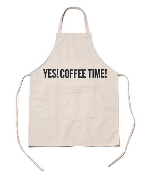 "DRESSSEN / REVERSIBLE APRON""YES!COFFEE TIME!/YES!BEER TIME!"
