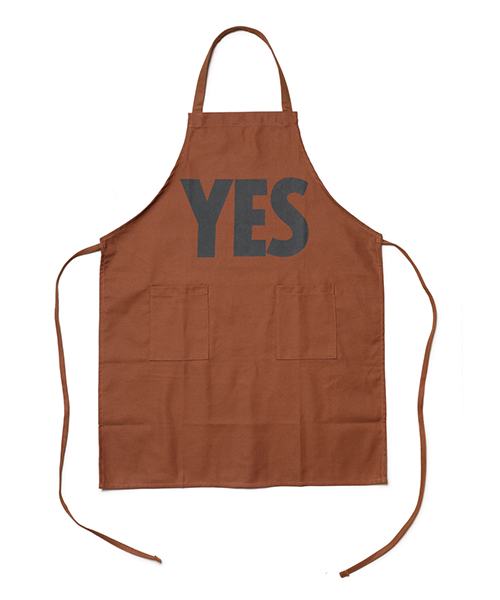 "DRESSSEN / DAY USE W POCKET APRON(BROWN)""YES"""