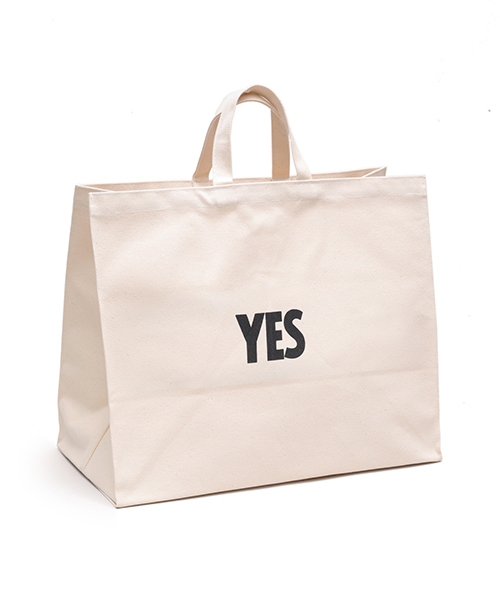 "DRESSSEN / MARKET BAG ""YES/NO THANK YOU"""