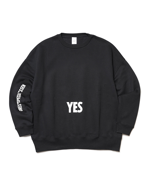 "DRESSSEN /DRES""SPECIAL""SSEN SWEAT SHIRTS ""YES/NO THANKYOU"""