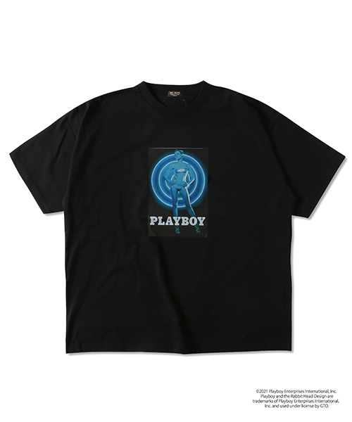 MR.OLIVE 別注 PLAYBOY / TRON POSTER T-SHIRT